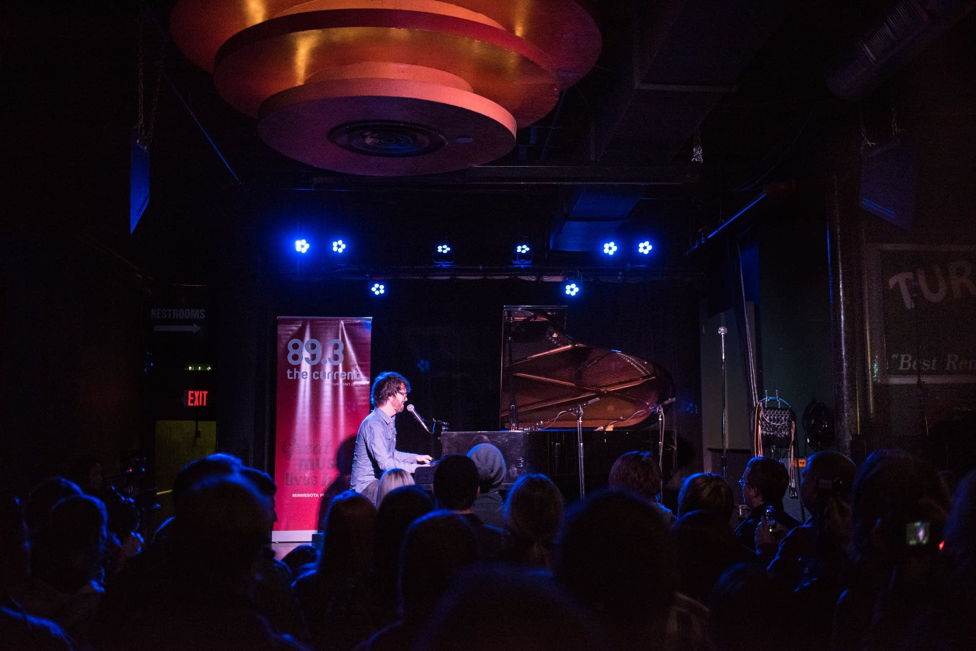 Ben Folds at the Turf Club - 3