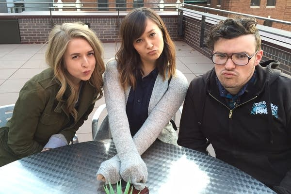 Chelsea Lankford, Tess Weinberg and Alex Gaterud