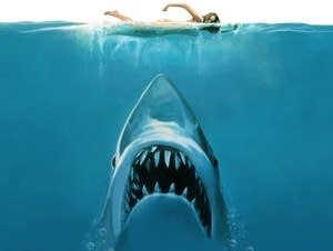 'Jaws' poster art