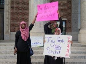 Vigil for Nabra Hassanen