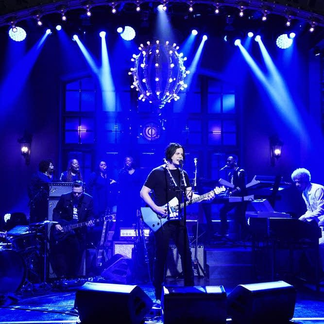 Jack White performs on 'Saturday Night Live' episode 1743