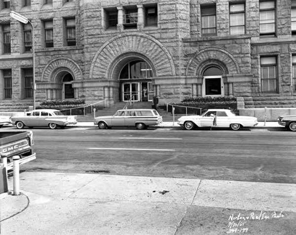 Minneapolis City Hall and Hennepin County Courthouse, 1965.