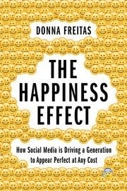 "A book cover of ""The Happiness Effect"""