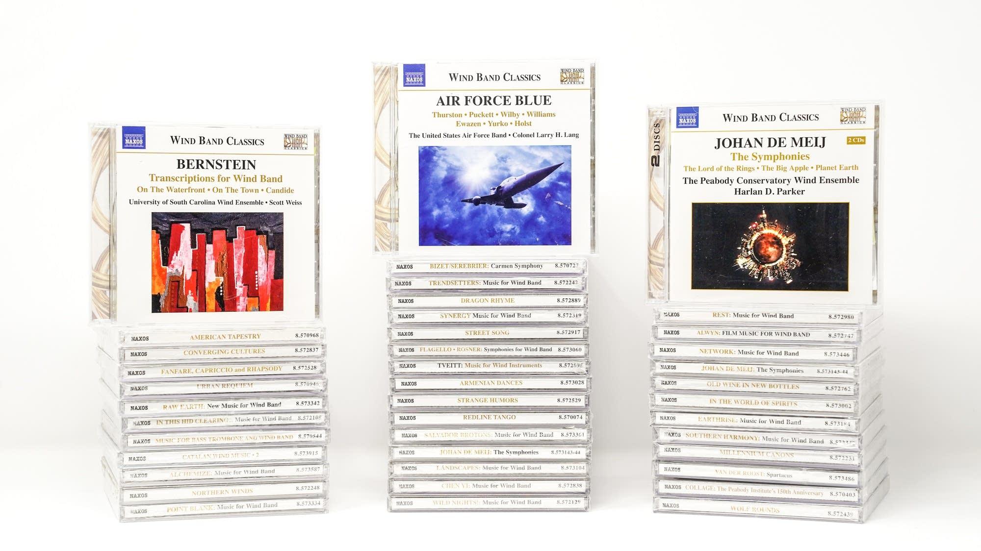Naxos Wind Band Classics Boxed Set