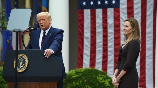 President Trump announces his Supreme Court nominee