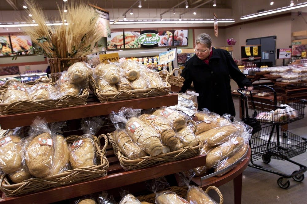 Shopping at Cub Foods