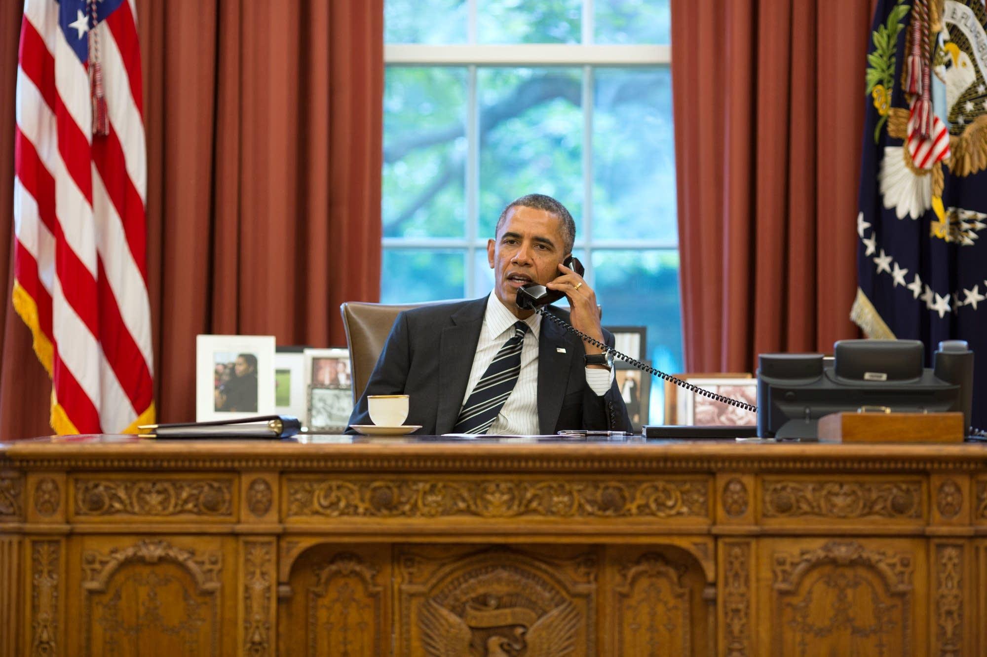 Barack Obama, photo by Pete Souza