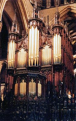 1898 Henry Willis organ of Lincoln Cathedral