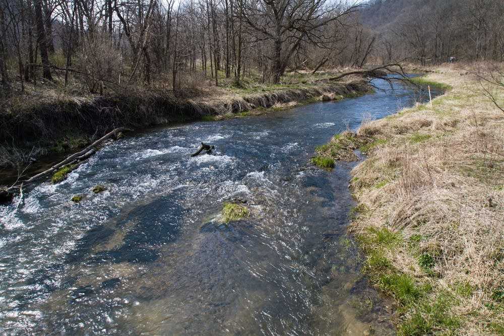 The fish kill affected a six-mile stretch.