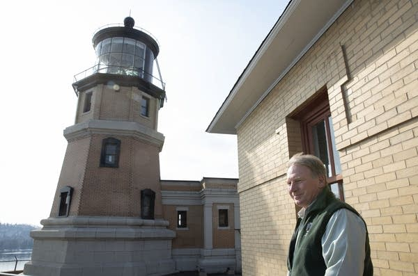 Lee Radzak is retiring after serving as Split Rock Lighthouse site manager