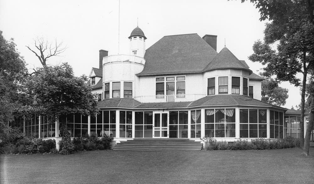 The original Town & Country clubhouse