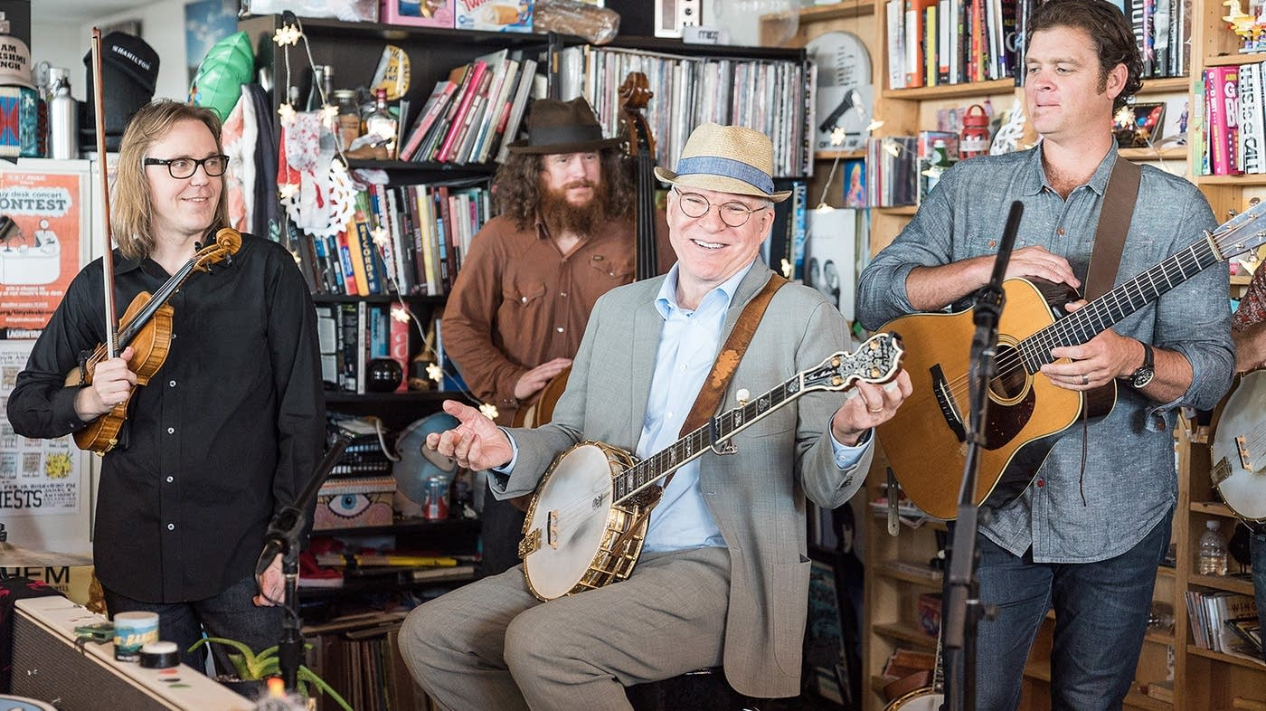 Steve Martin And The Steep Canyon Rangers Tiny Desk