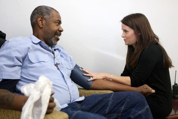 Blood pressure check