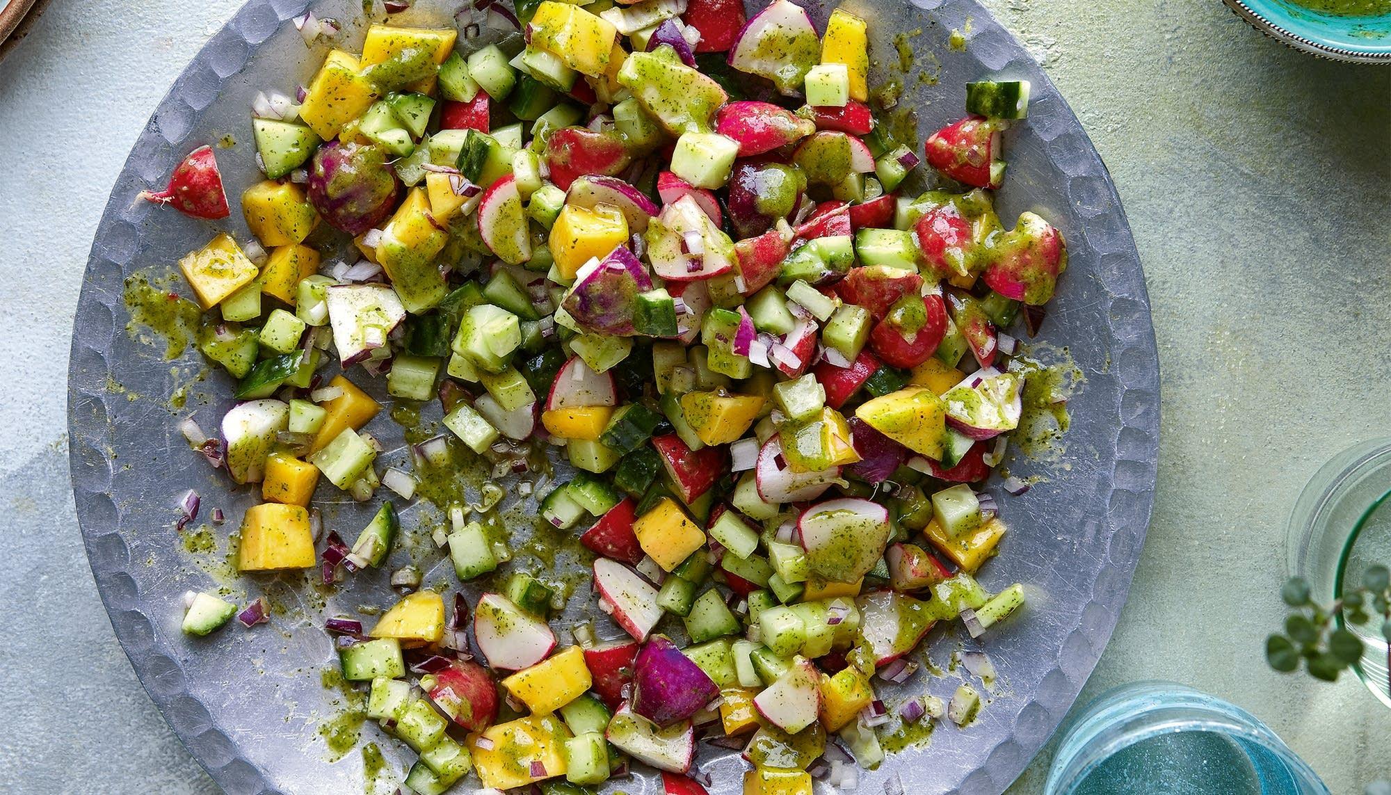 Mango Mint Salad The Splendid Table