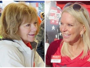 U.S. Senator Tina Smith and state Sen. Karin Housley.