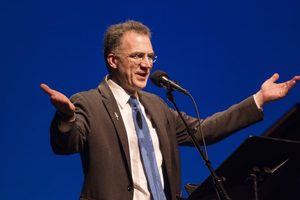 Host John Birge