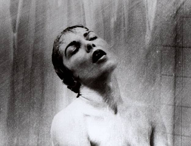The Psycho shower scene