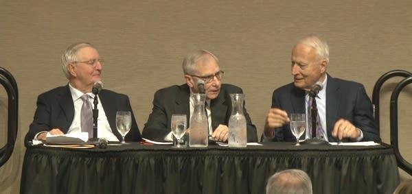Walter Mondale, Gary Eichten and David Durenberger