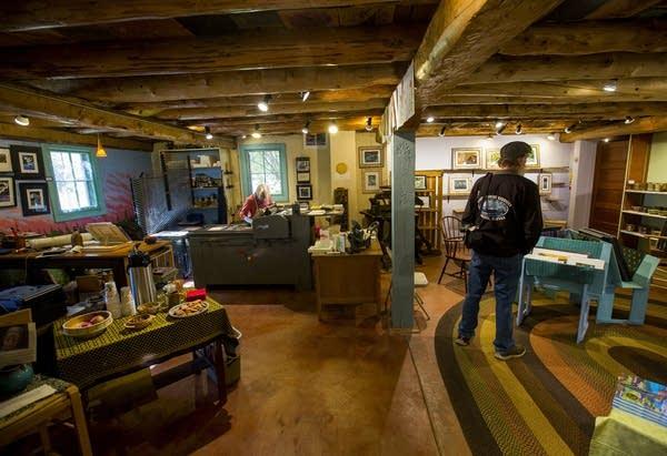 Inside Betsy Bowen's studio