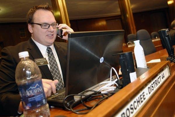 Rep. Joshua Boschee, D-Fargo
