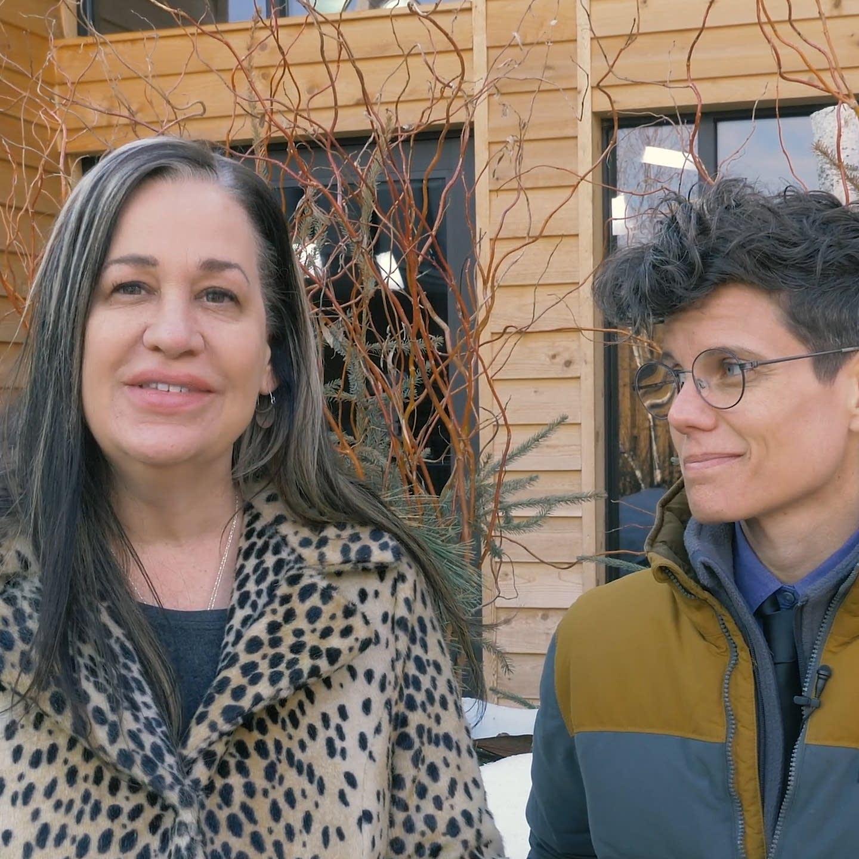 Mary Lucia and Jana Shortal