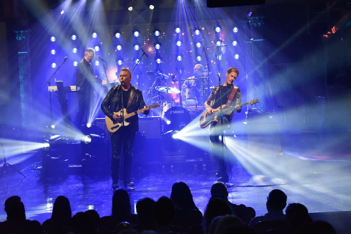 Barenaked Ladies perform on 'The Late Show with Stephen Colbert'