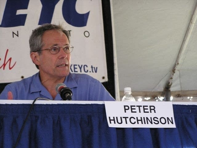 IP  candidate Peter Hutchinson