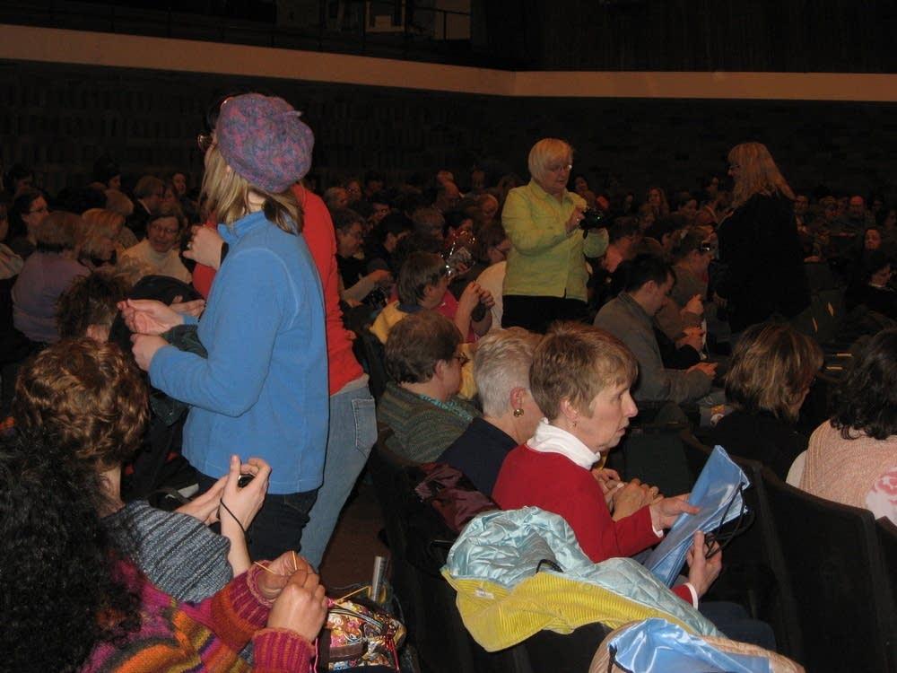 Harlot crowd