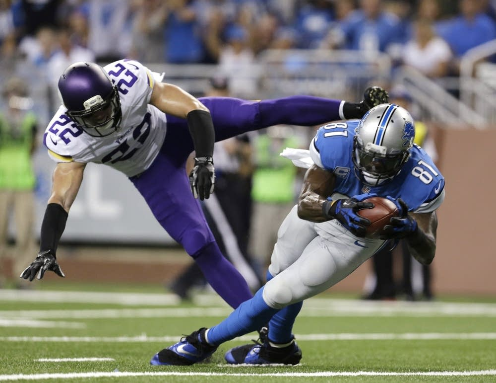 Calvin Johnson, Harrison Smith