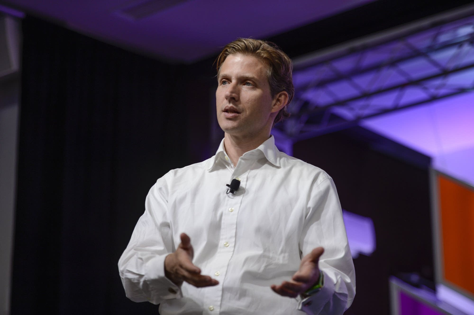 Alec Ross spoke at the Aspen Ideas Festival.