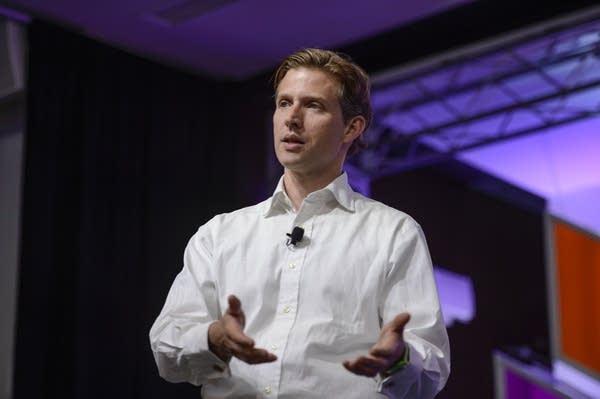 Alec Ross spoke at the Aspen Ideas Festival.