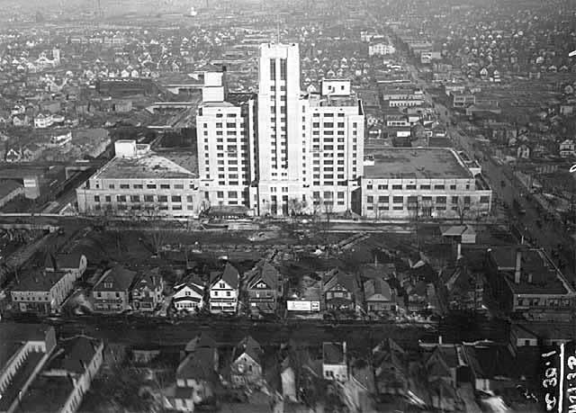 Sears Roebuck aerial