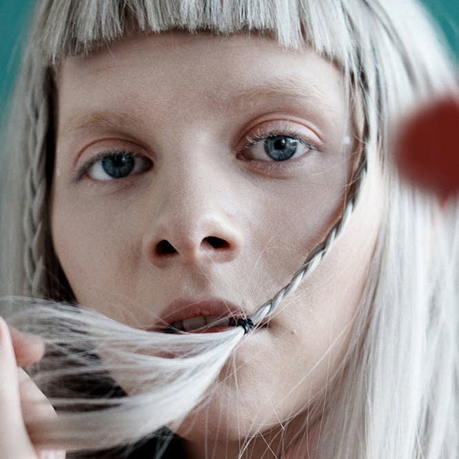 Norwegian singer-songwriter Aurora - web crop