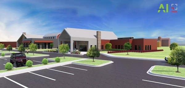 A proposed mental health treatment center in Forest Lake.