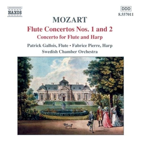 Wolfgang Amadeus Mozart: Concerto for Flute and Harp: II. Andantino