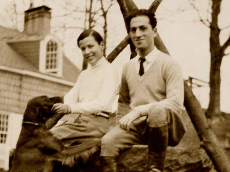 George Gershwin and Kay Swift