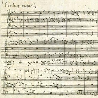 Die Kunst der Fuge manuscript