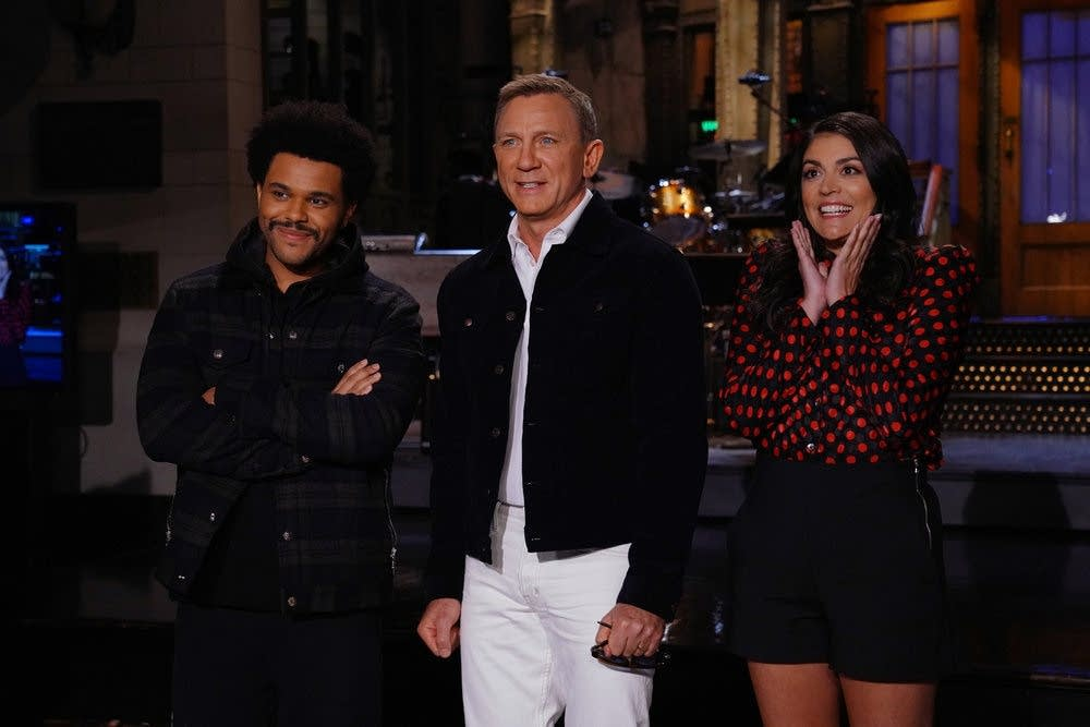 The Weeknd, Daniel Craig and Cecily Strong on SNL