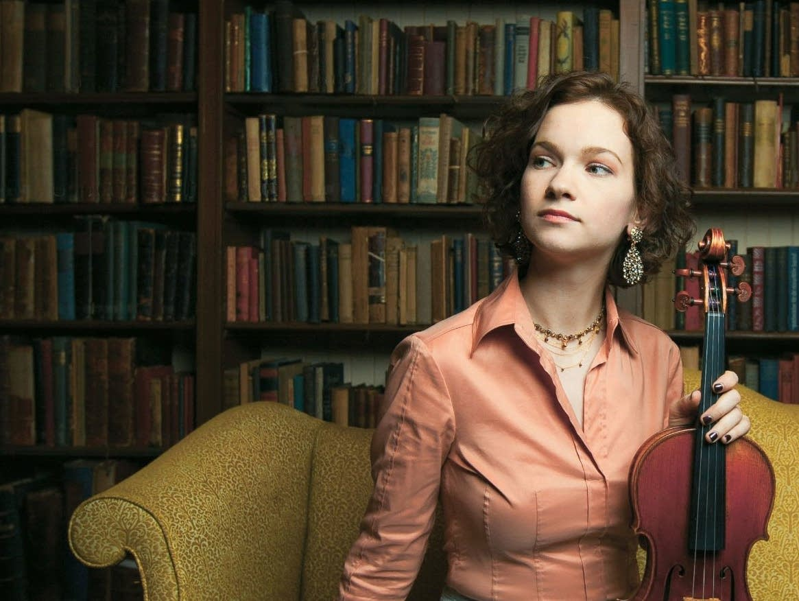 Hilary Hahn announces ...