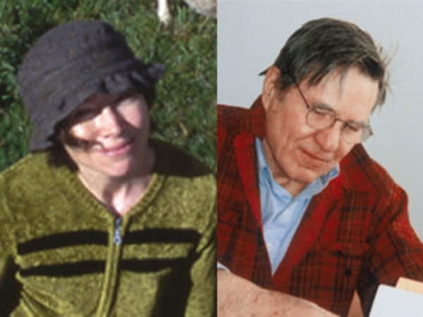 Josephine Dickinson and Galway Kinnell
