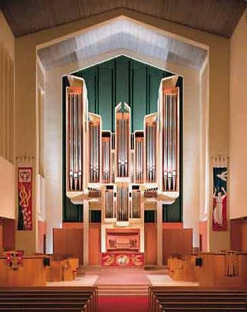 1998 Rosales & Glatter-Götz organ at Claremont United Church