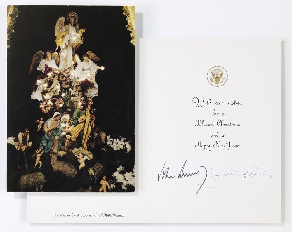 JFK Christmas card