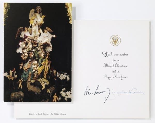 JFK Christmas card