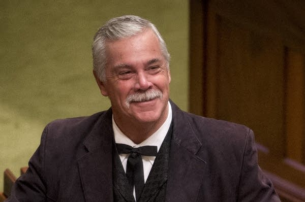 Rep. Tony Cornish, R-Vernon Center, appears on the House floor.