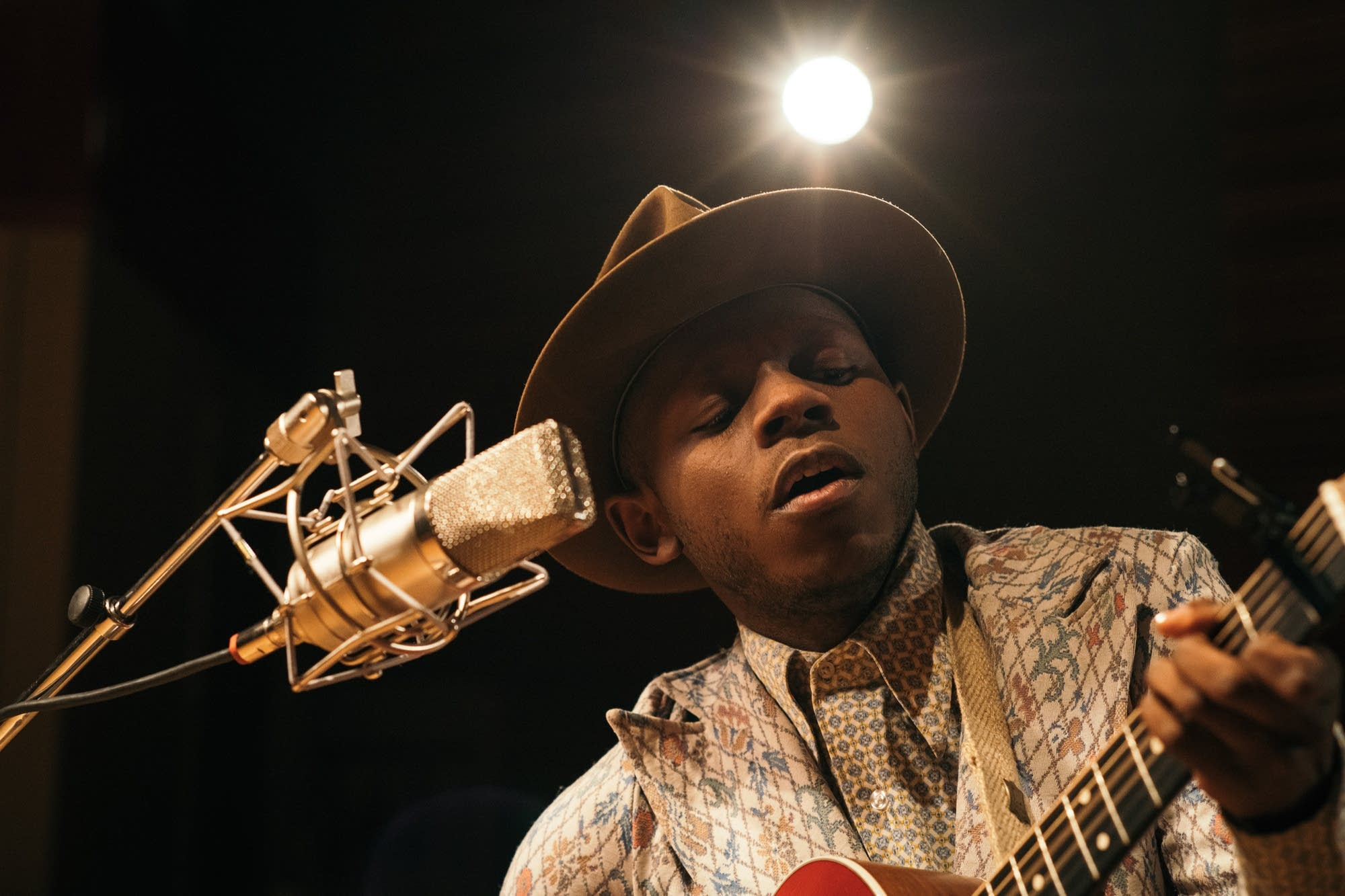 J.S. Ondara performs in The Current studio