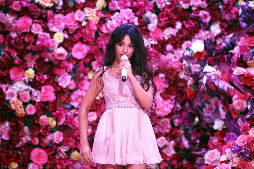 Camila Cabello performing on 'The Tonight Show Starring Jimmy Fallon'