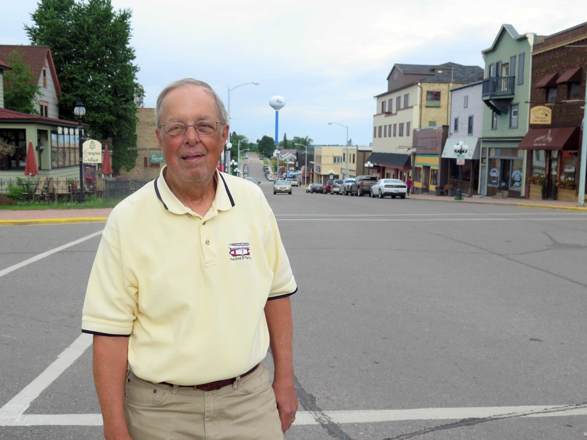 Ely Mayor Chuck Novak