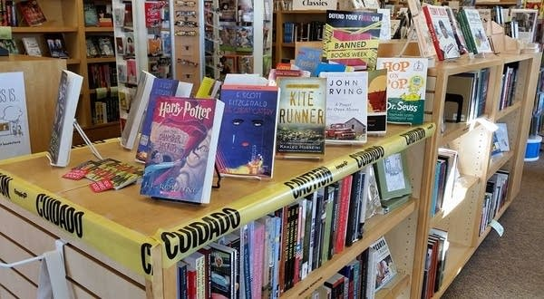 Banned Books Week at Valley Bookseller, Stillwater