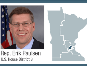 Rep. Erik Paulsen, U.S. House District 3