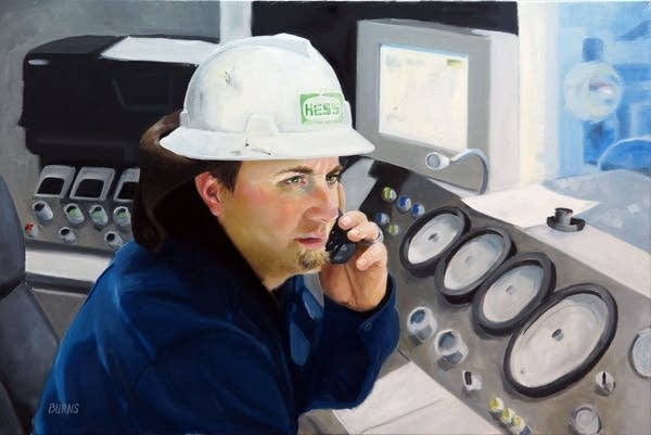 Portrait on the oil patch